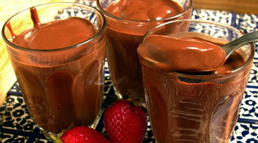 Receita de chocolate quente cremoso
